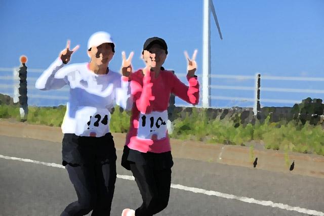 白鳥大橋ハーフマラソン